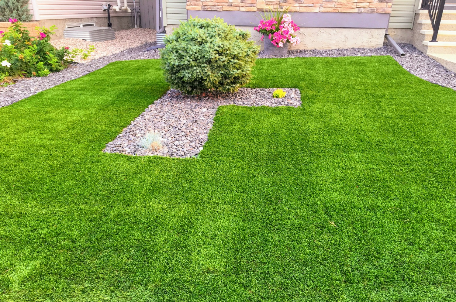 perfect artificial lawn in dallas tx